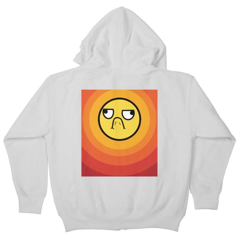 Sunwaves - Grumpy Kids Zip-Up Hoody by My Shirty Life