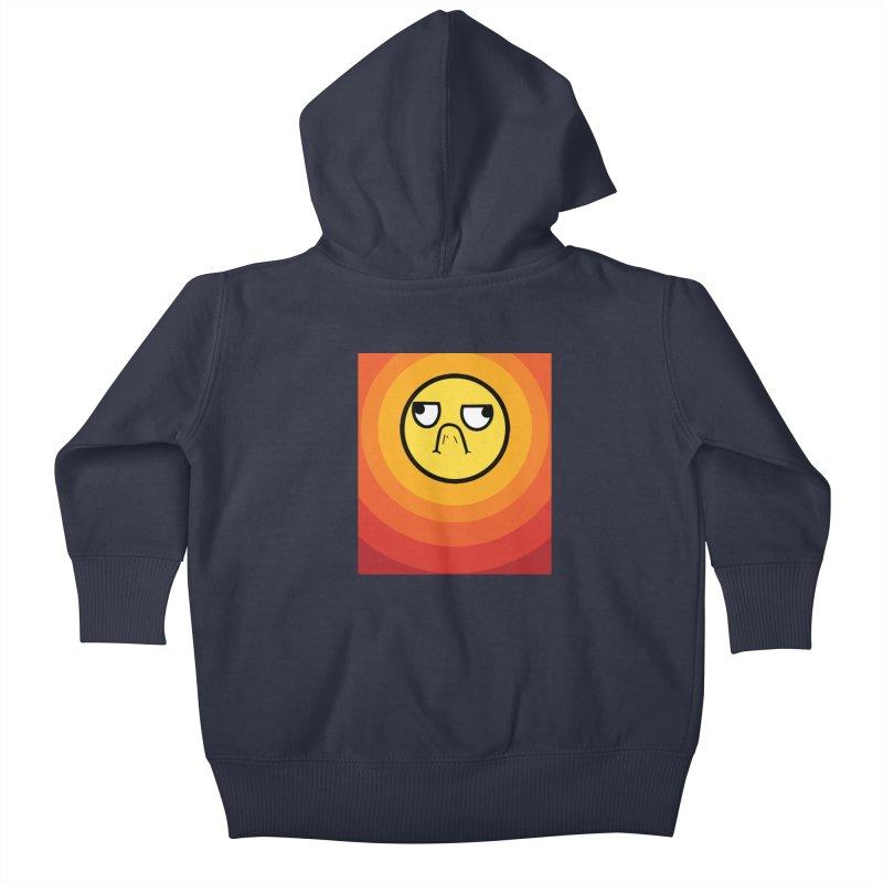 Sunwaves - Grumpy Kids Baby Zip-Up Hoody by My Shirty Life