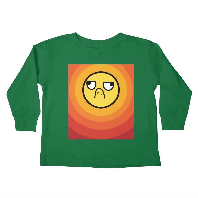 Sunwaves - Grumpy Kids Toddler Longsleeve T-Shirt by My Shirty Life