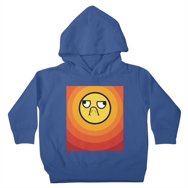 Sunwaves - Grumpy Kids Toddler Pullover Hoody by My Shirty Life