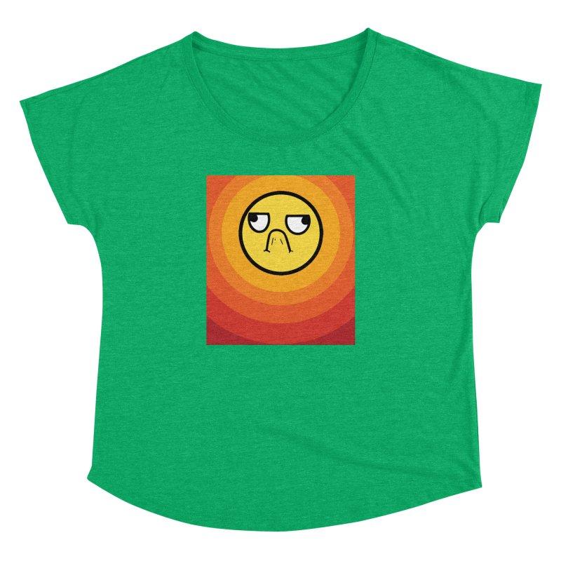 Sunwaves - Grumpy Women's Dolman by My Shirty Life
