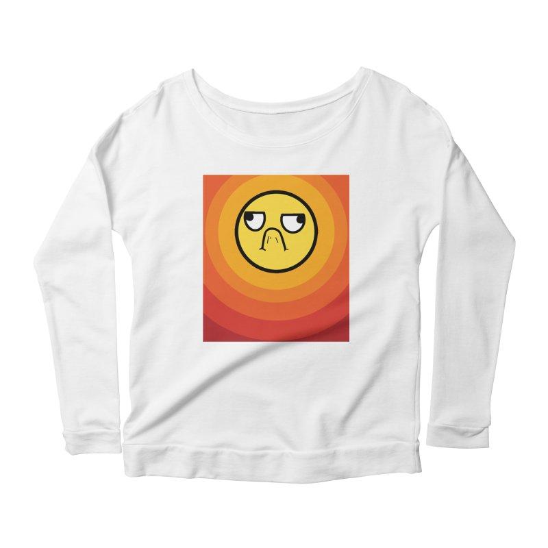 Sunwaves - Grumpy Women's Longsleeve Scoopneck  by My Shirty Life
