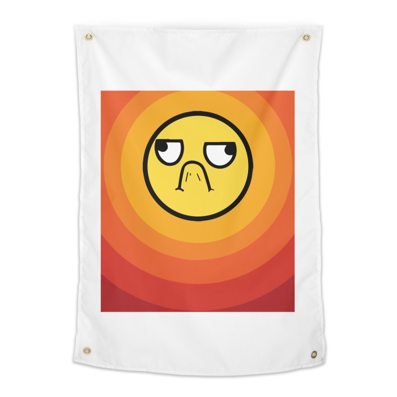 Sunwaves - Grumpy Home Tapestry by My Shirty Life