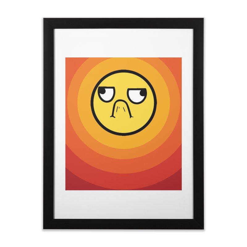 Sunwaves - Grumpy Home Framed Fine Art Print by My Shirty Life