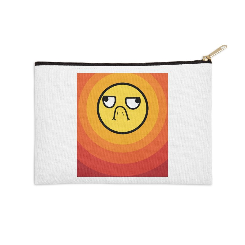 Sunwaves - Grumpy Accessories Zip Pouch by My Shirty Life