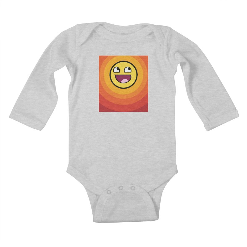 Sunwaves - Awesome Kids Baby Longsleeve Bodysuit by My Shirty Life