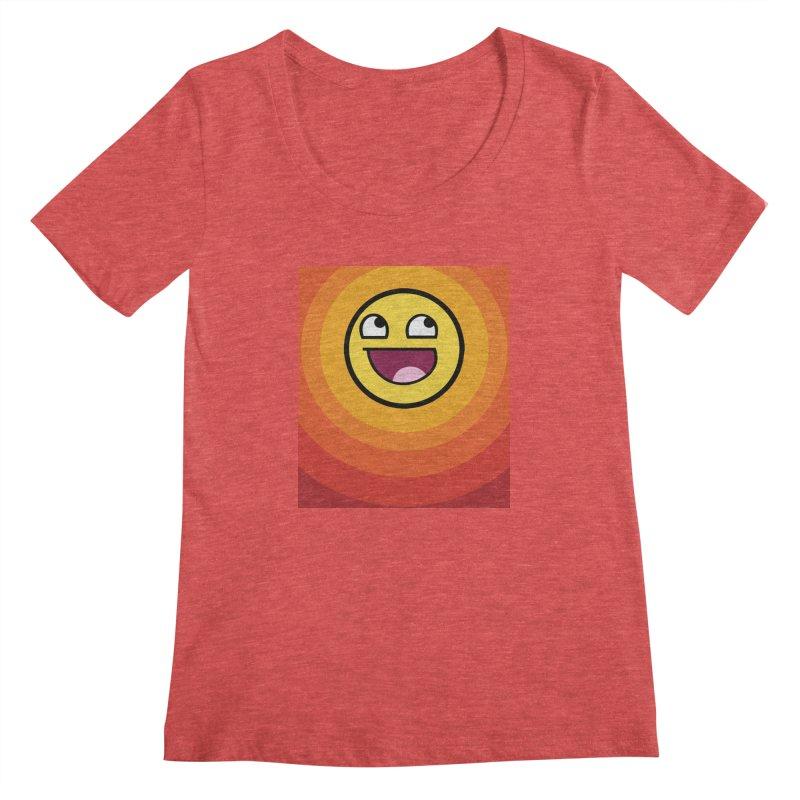 Sunwaves - Awesome Women's Scoopneck by My Shirty Life
