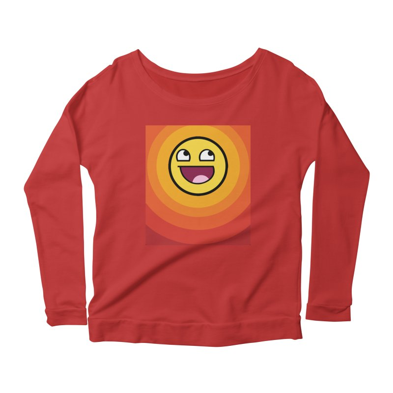 Sunwaves - Awesome Women's Longsleeve Scoopneck  by My Shirty Life