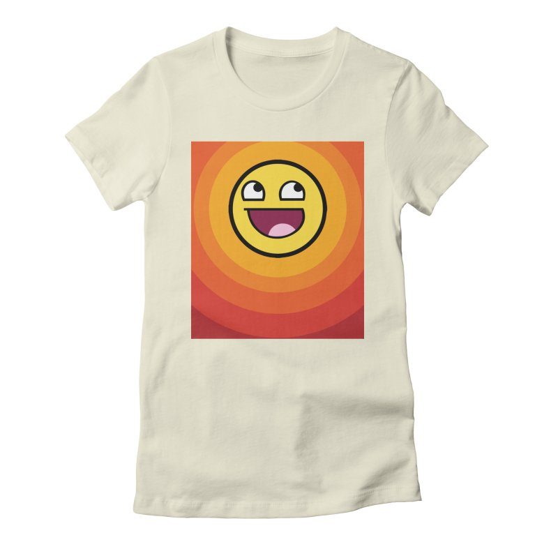 Sunwaves - Awesome Women's Fitted T-Shirt by My Shirty Life