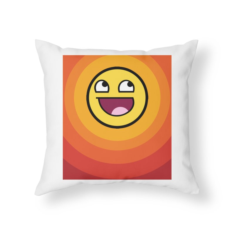 Sunwaves - Awesome Home Throw Pillow by My Shirty Life