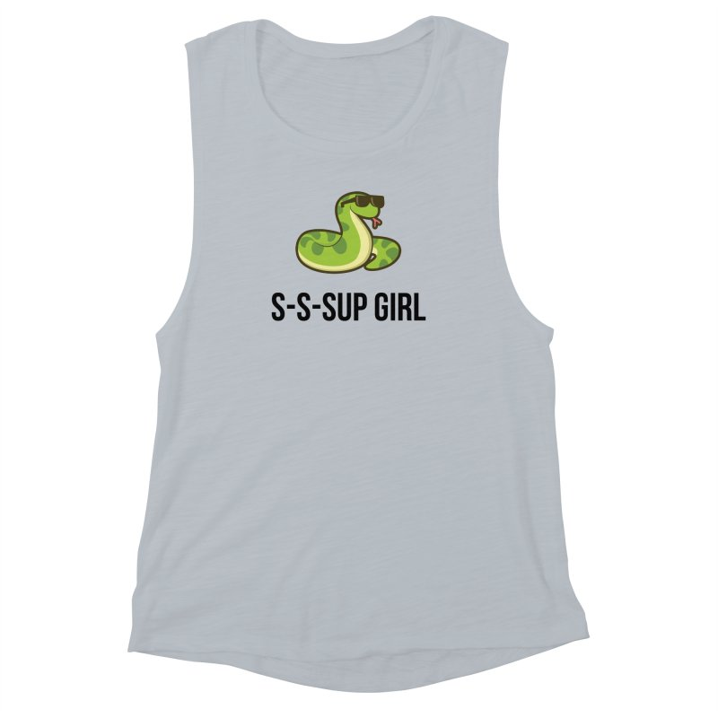 Sup Girl Snake Women's Muscle Tank by My Shirty Life