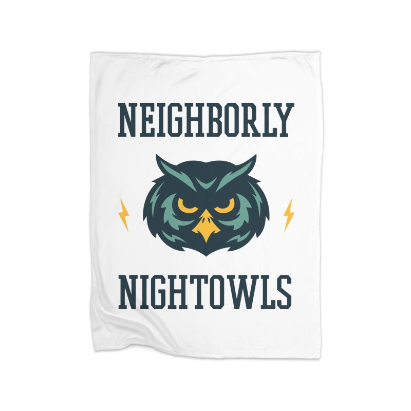 Neighborly Nightowls Home Blanket by My Shirty Life