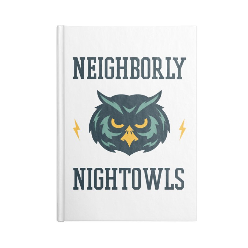 Neighborly Nightowls Accessories Notebook by My Shirty Life