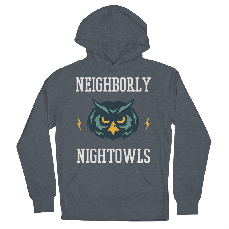 Neighborly Nightowls Men's French Terry Pullover Hoody by My Shirty Life