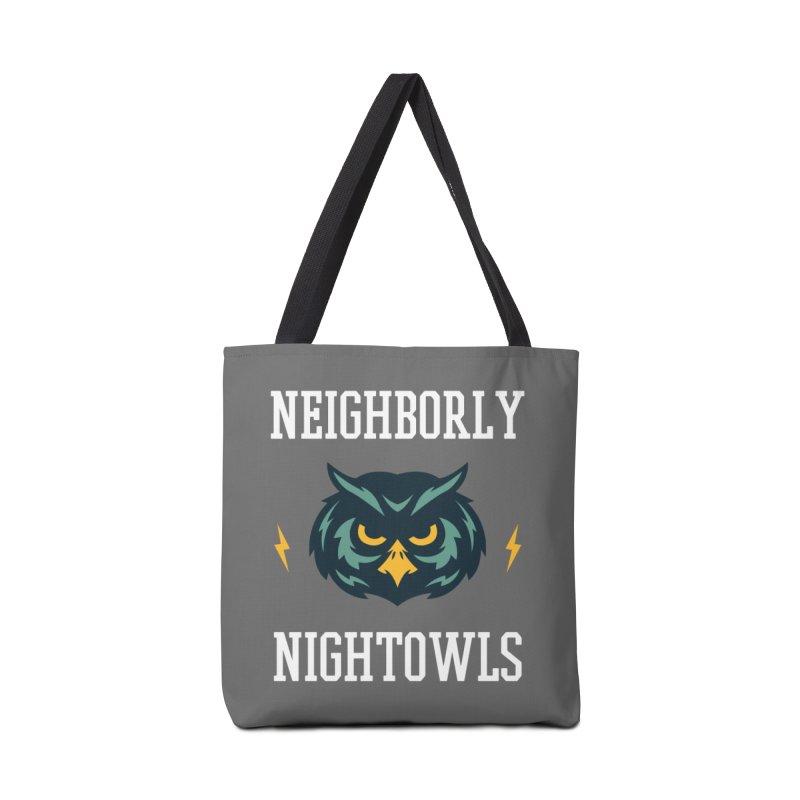 Neighborly Nightowls Accessories Bag by My Shirty Life