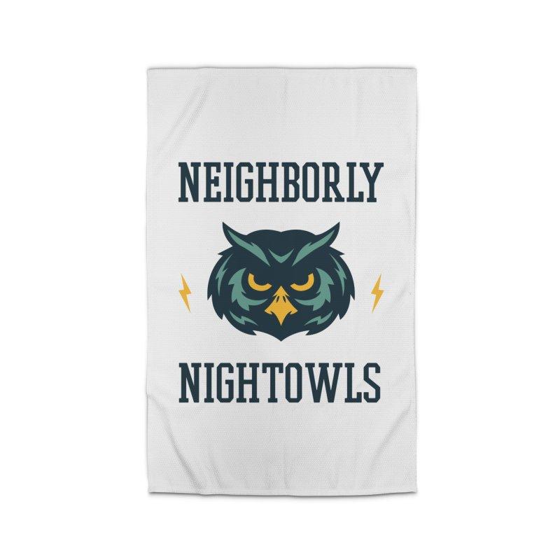 Neighborly Nightowls Home Rug by My Shirty Life
