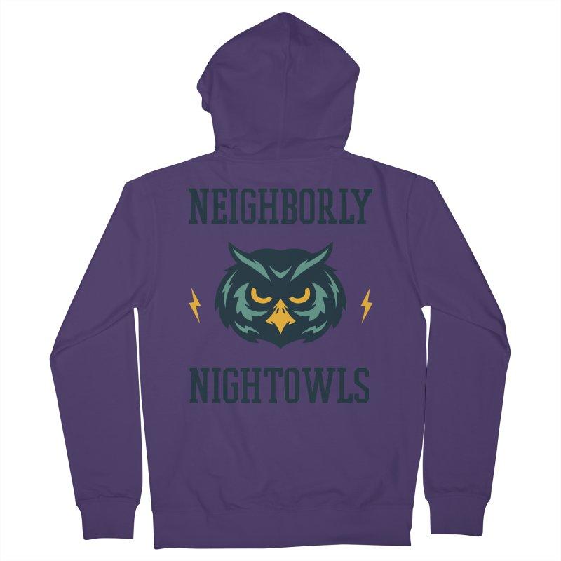 Neighborly Nightowls Women's Zip-Up Hoody by My Shirty Life