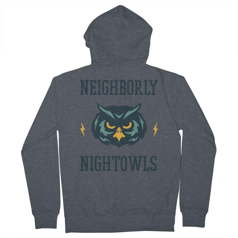 Neighborly Nightowls Men's Zip-Up Hoody by My Shirty Life