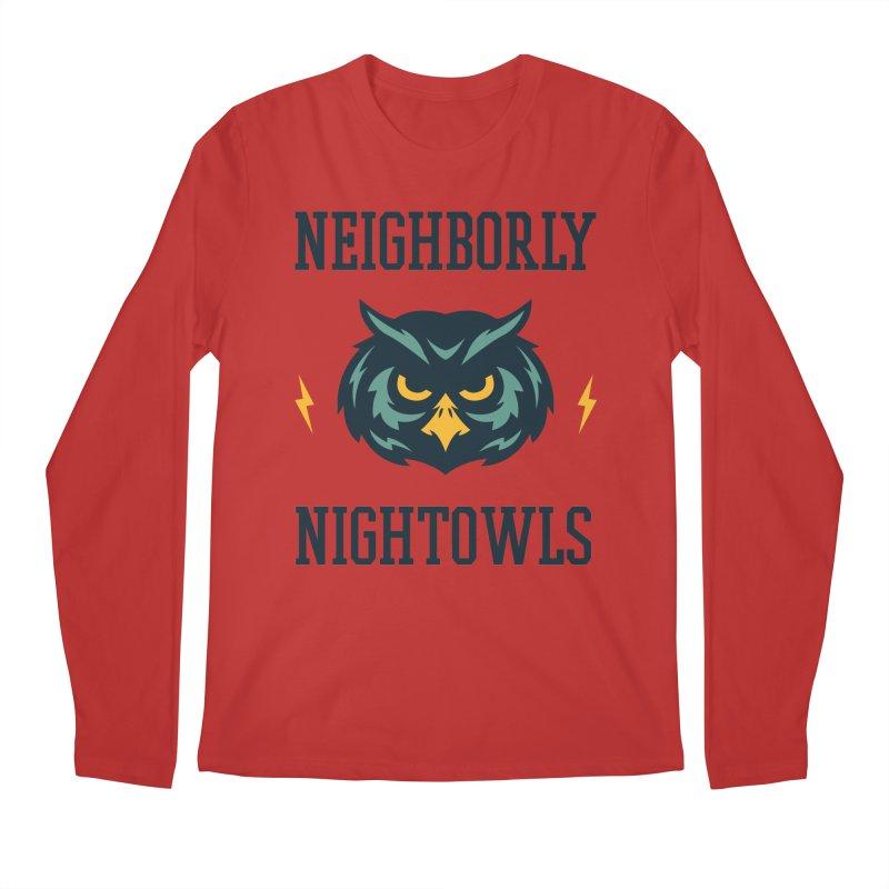 Neighborly Nightowls Men's Regular Longsleeve T-Shirt by My Shirty Life