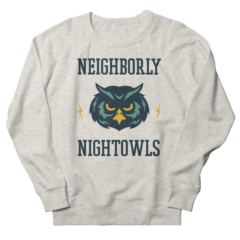 Neighborly Nightowls Women's French Terry Sweatshirt by My Shirty Life