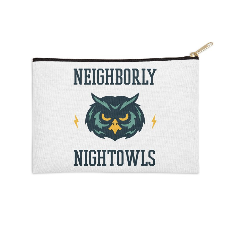 Neighborly Nightowls Accessories Zip Pouch by My Shirty Life