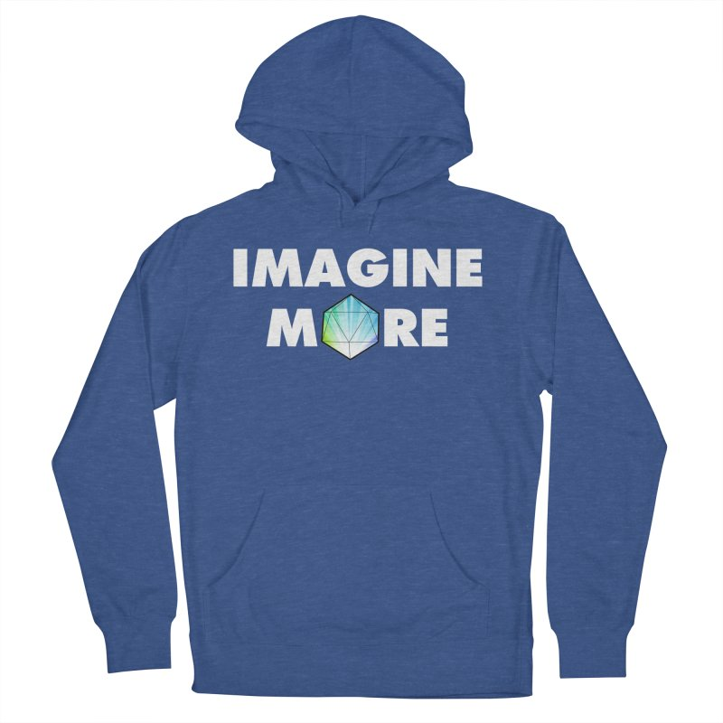 Imagine More Men's French Terry Pullover Hoody by My Shirty Life