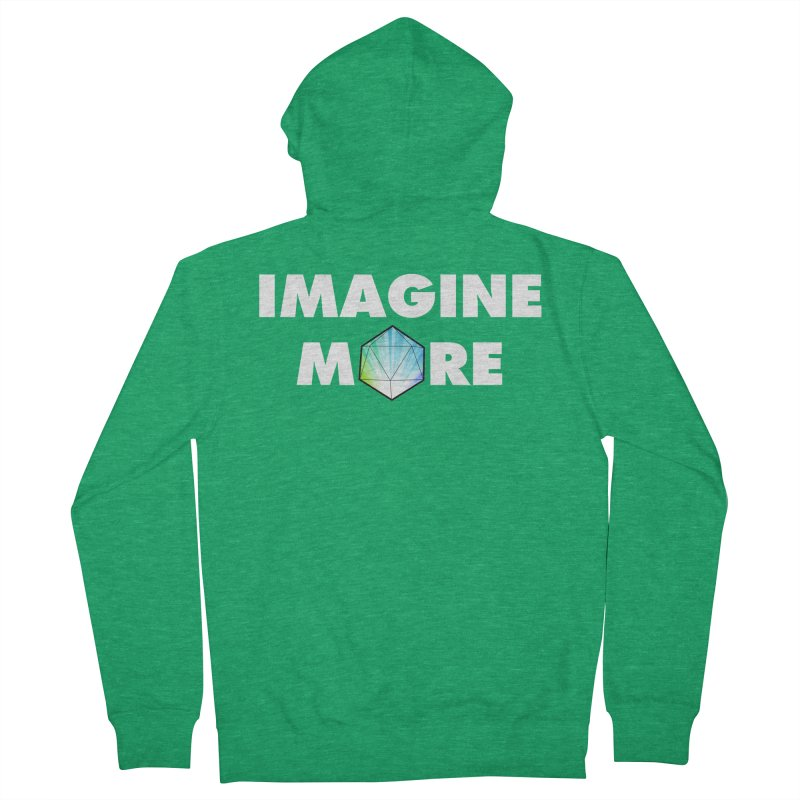 Imagine More Women's French Terry Zip-Up Hoody by My Shirty Life