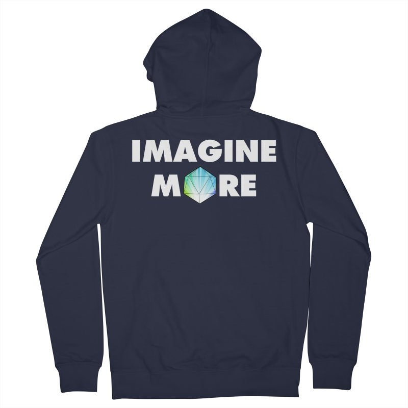 Imagine More Men's French Terry Zip-Up Hoody by My Shirty Life
