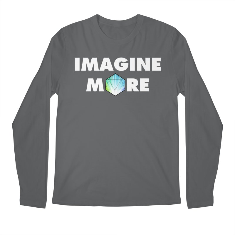 Imagine More Men's Regular Longsleeve T-Shirt by My Shirty Life