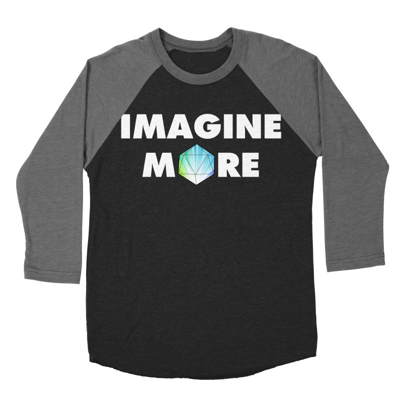 Imagine More Men's Baseball Triblend Longsleeve T-Shirt by My Shirty Life