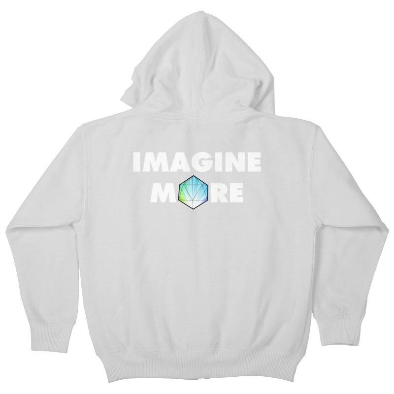Imagine More Kids Zip-Up Hoody by My Shirty Life
