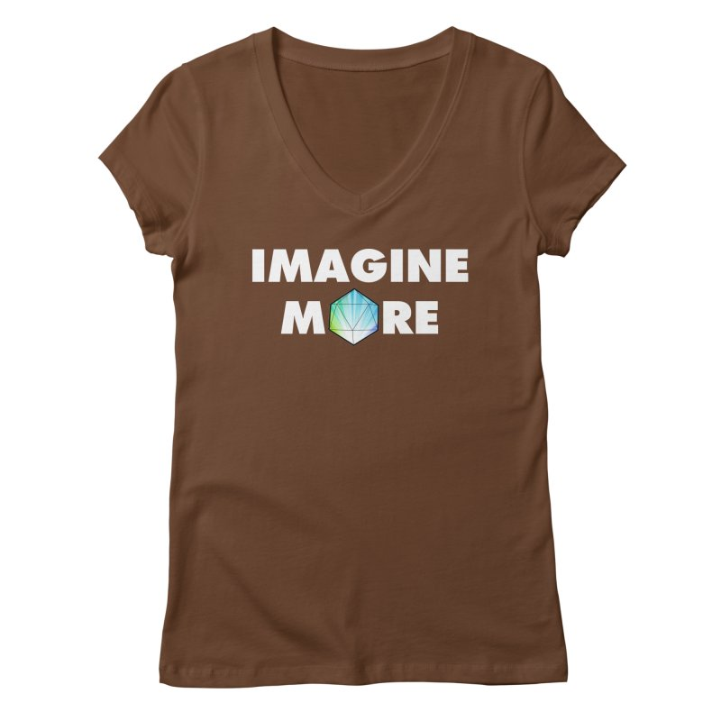 Imagine More Women's V-Neck by My Shirty Life