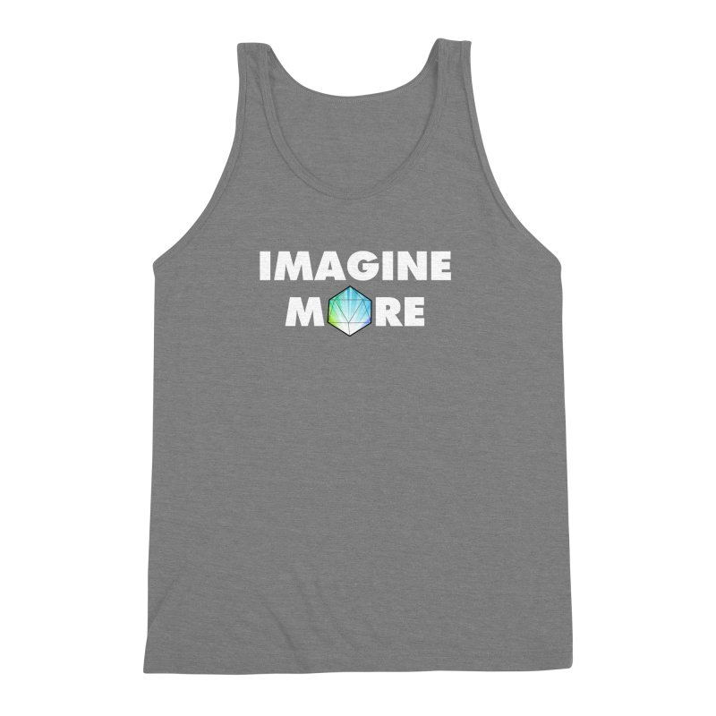 Imagine More Men's Triblend Tank by My Shirty Life