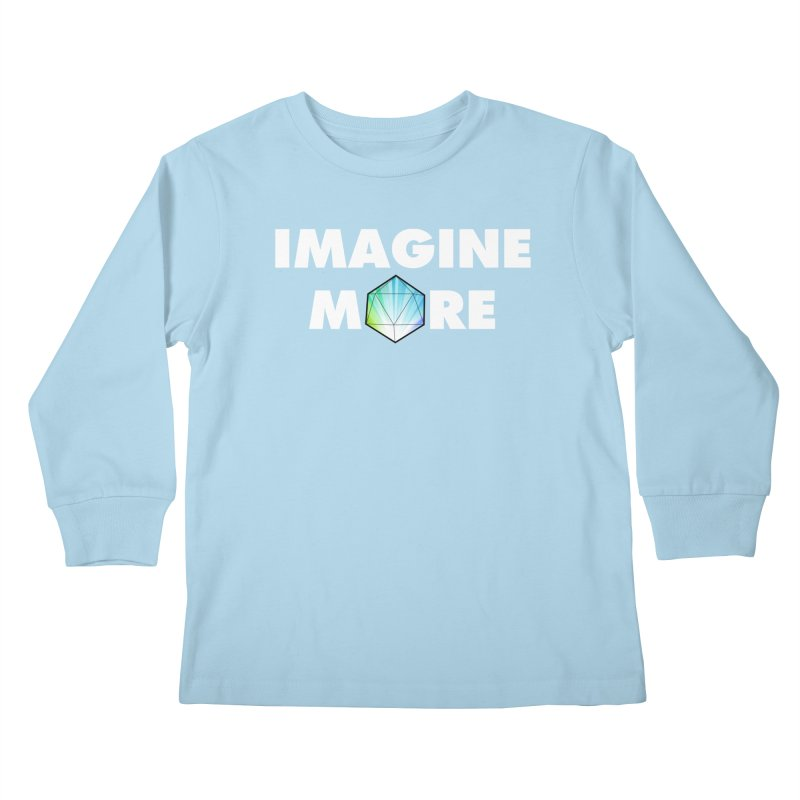 Imagine More Kids Longsleeve T-Shirt by My Shirty Life
