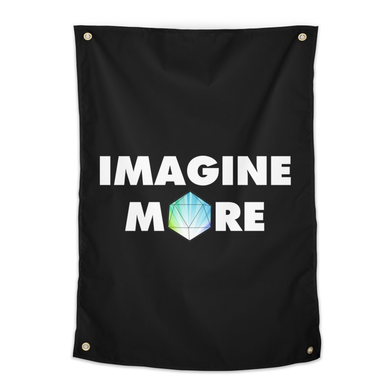 Imagine More Home Tapestry by My Shirty Life