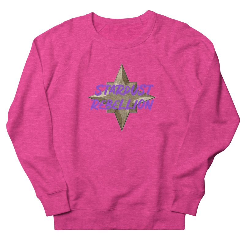 Stardust Rebellion Women's French Terry Sweatshirt by My Shirty Life