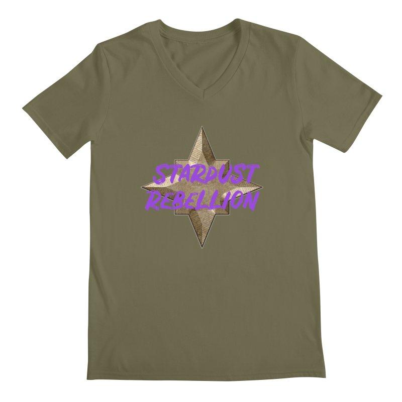 Stardust Rebellion Men's Regular V-Neck by My Shirty Life