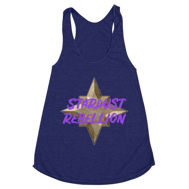 Stardust Rebellion Women's Racerback Triblend Tank by My Shirty Life