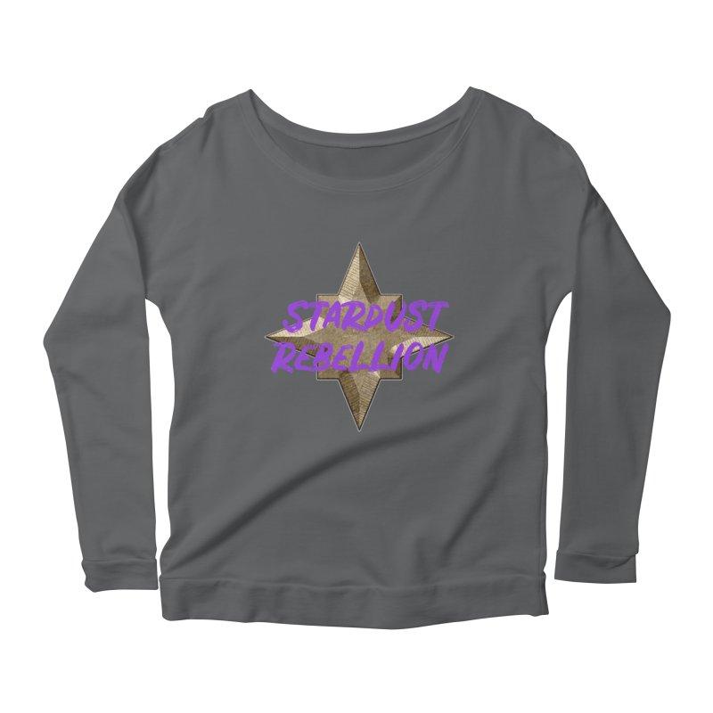 Stardust Rebellion Women's Scoop Neck Longsleeve T-Shirt by My Shirty Life