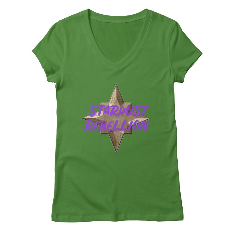 Stardust Rebellion Women's Regular V-Neck by My Shirty Life