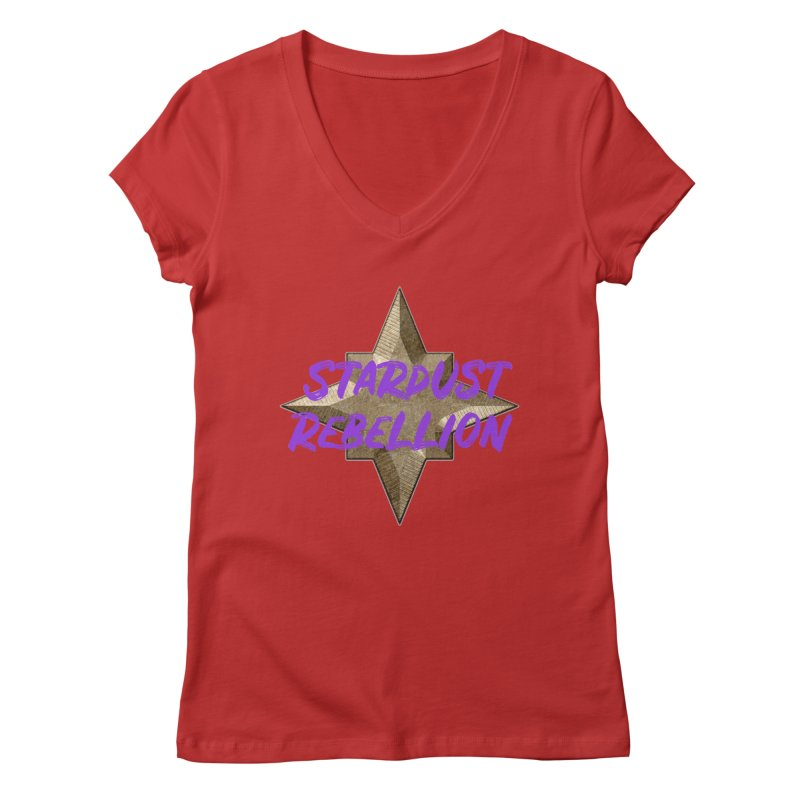 Stardust Rebellion Women's Regular V-Neck by My Shirty Life