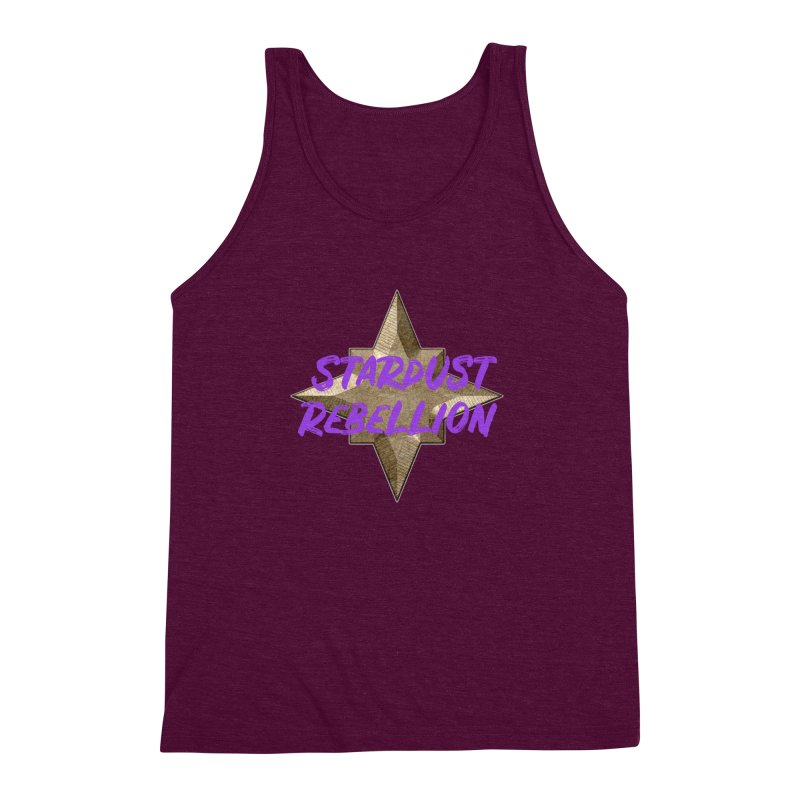 Stardust Rebellion Men's Triblend Tank by My Shirty Life
