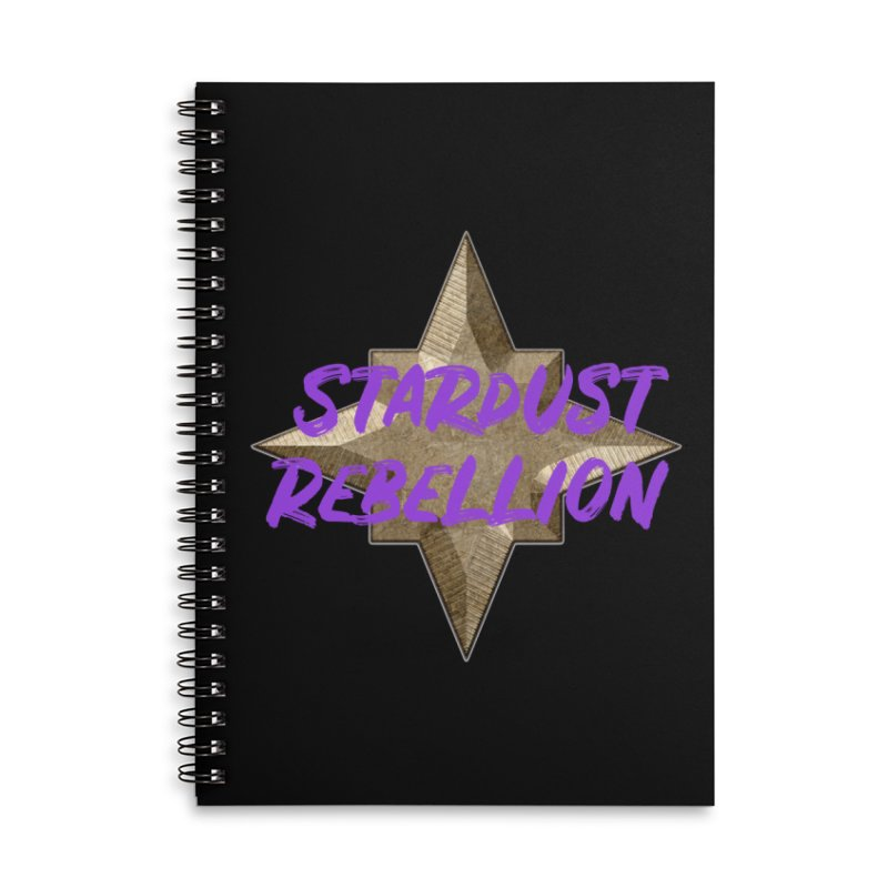 Stardust Rebellion Accessories Lined Spiral Notebook by My Shirty Life