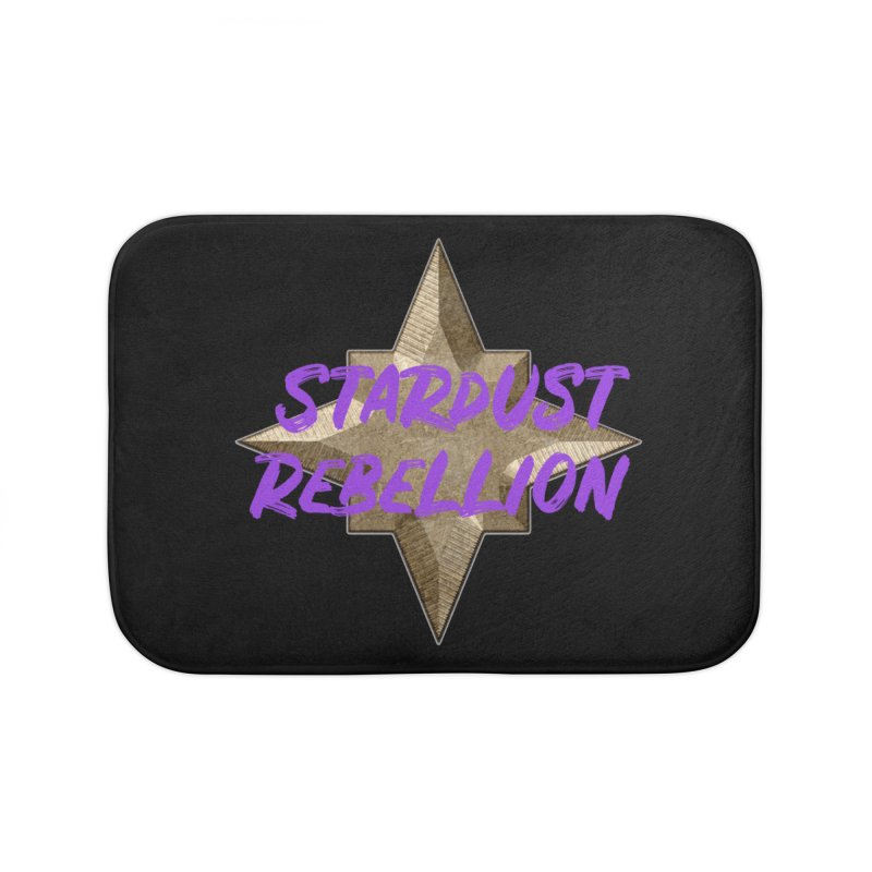 Stardust Rebellion Home Bath Mat by My Shirty Life