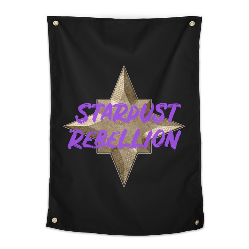 Stardust Rebellion Home Tapestry by My Shirty Life