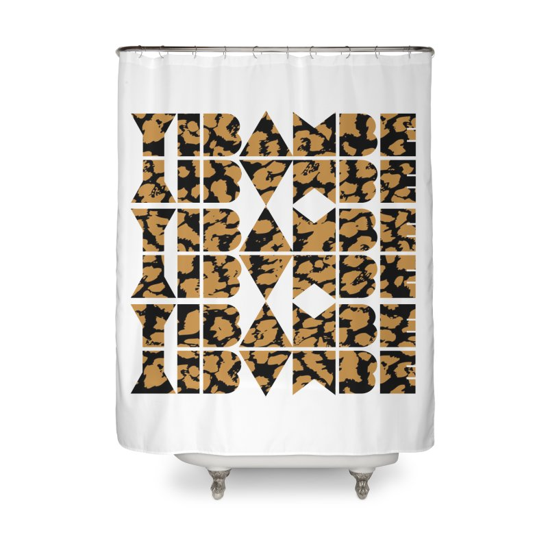 YIBAMBE! Home Shower Curtain by My Shirty Life