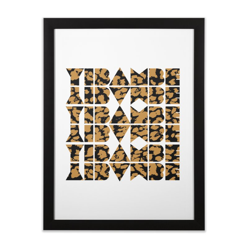 YIBAMBE! Home Framed Fine Art Print by My Shirty Life