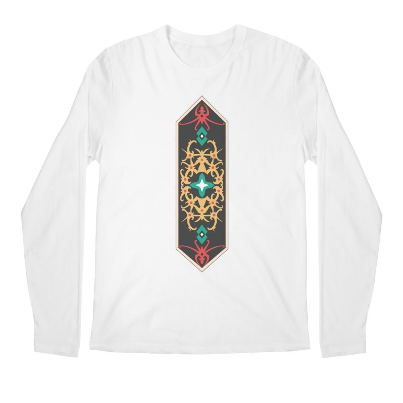 Gold, Banner Of Royals Men's Longsleeve T-Shirt by My Shirty Life
