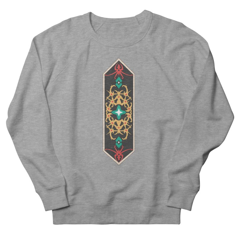 Gold, Banner Of Royals Women's Sweatshirt by My Shirty Life