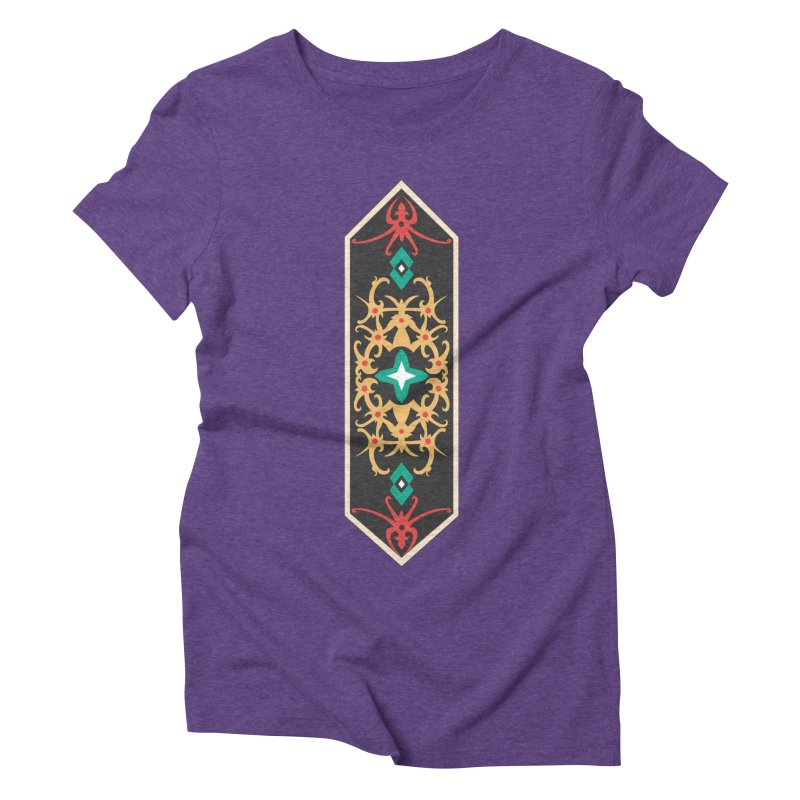 Gold, Banner Of Royals Women's Triblend T-Shirt by My Shirty Life